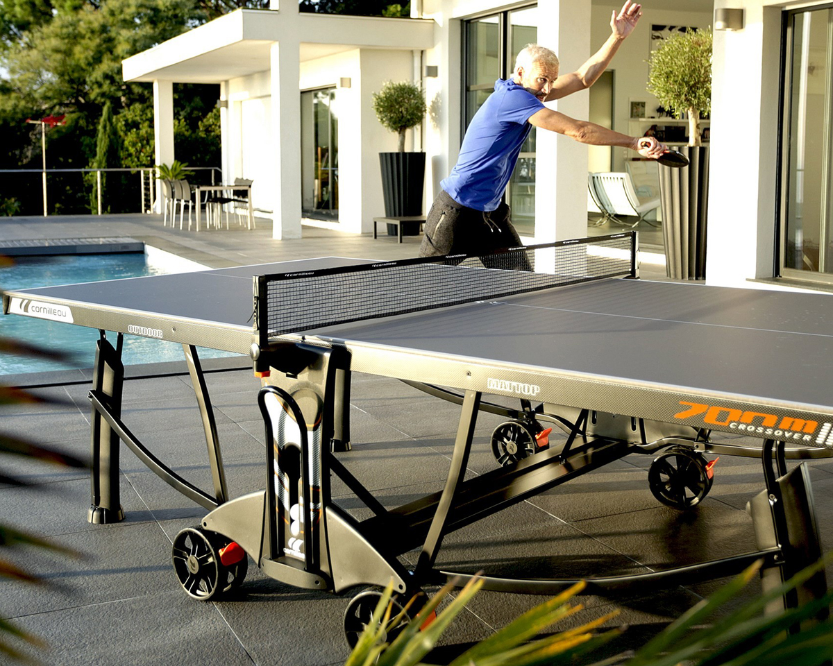 Cornilleau 700M Crossover Ping Pong Table Game Room