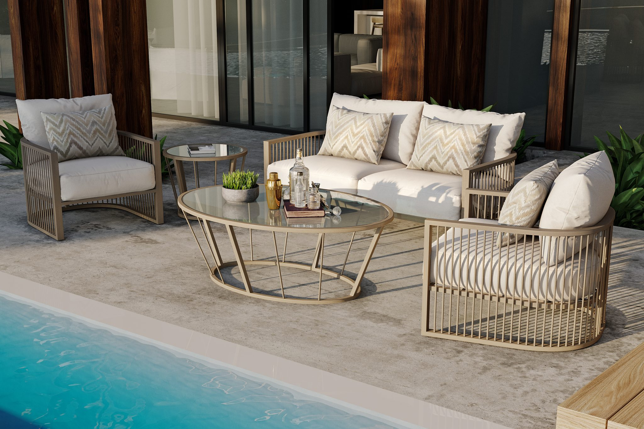Avenue Outdoor Furniture Collection Deep Seating