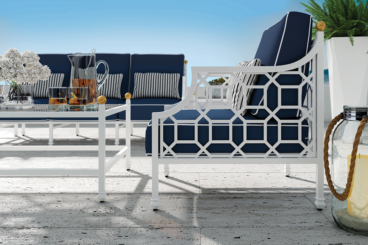 Barclay Butera Signature Outdoor Furniture Collection Deep Seating
