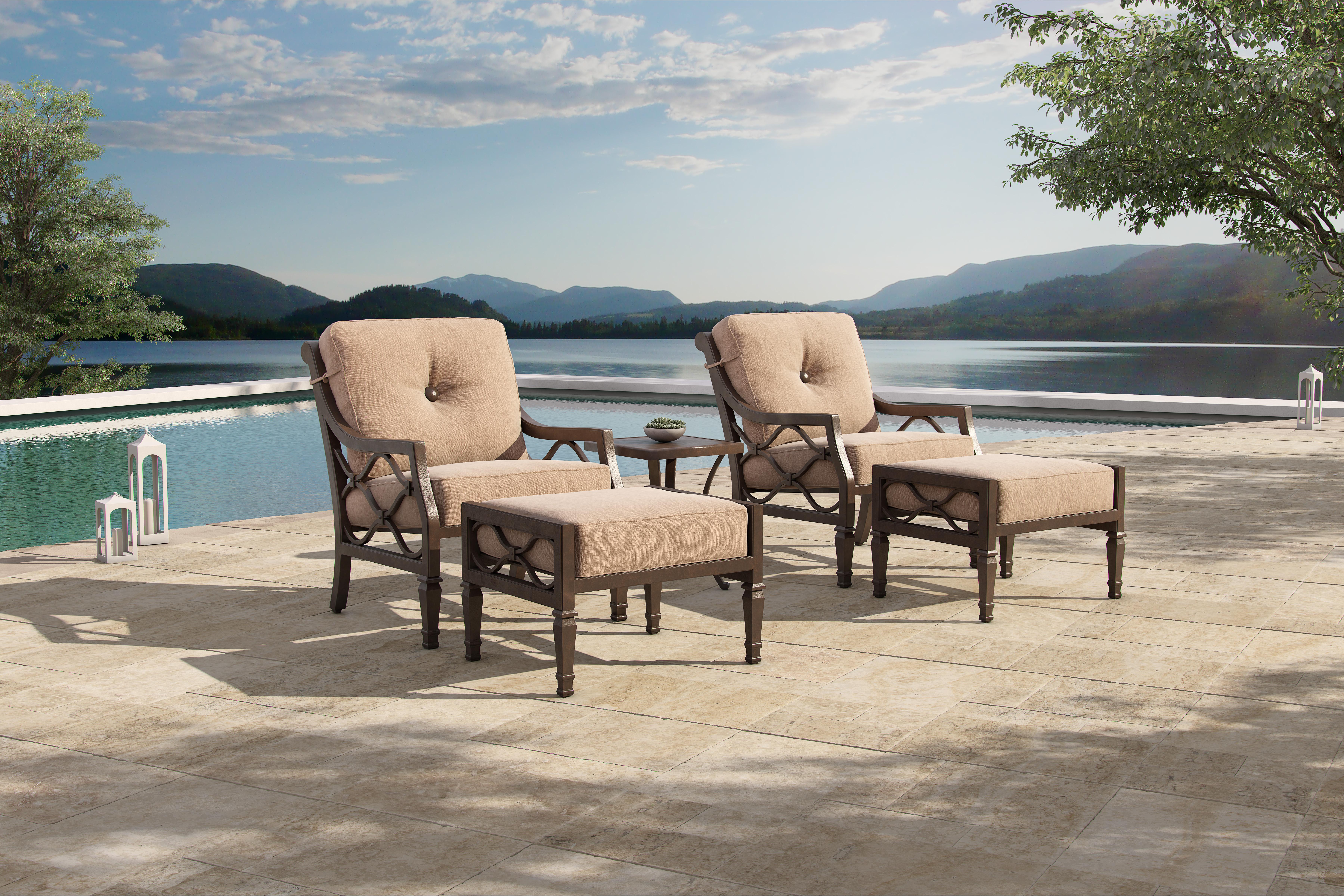 Villa Bianca Outdoor Furniture Collection Deep Seating