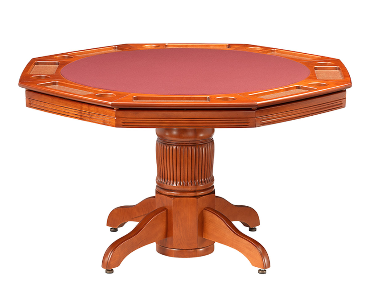 Corsica Poker Dining Table w/ Bumper Pool Game Tables