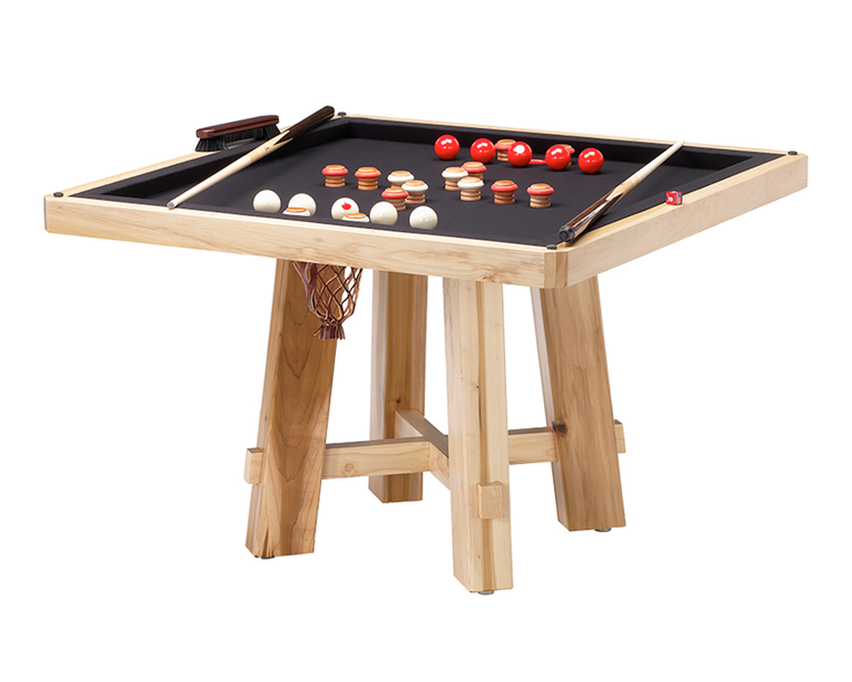 El Dorado Poker Dining Table w/ Bumper Pool Game Tables