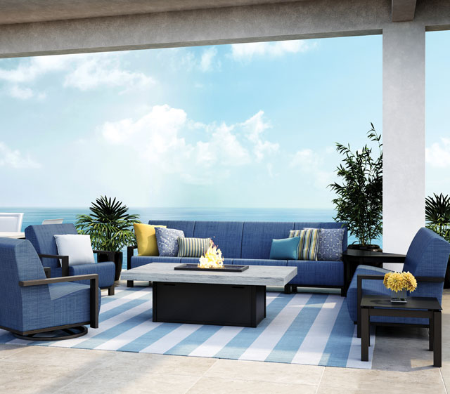 Element Air Outdoor Patio Furniture Collection Deep Seating