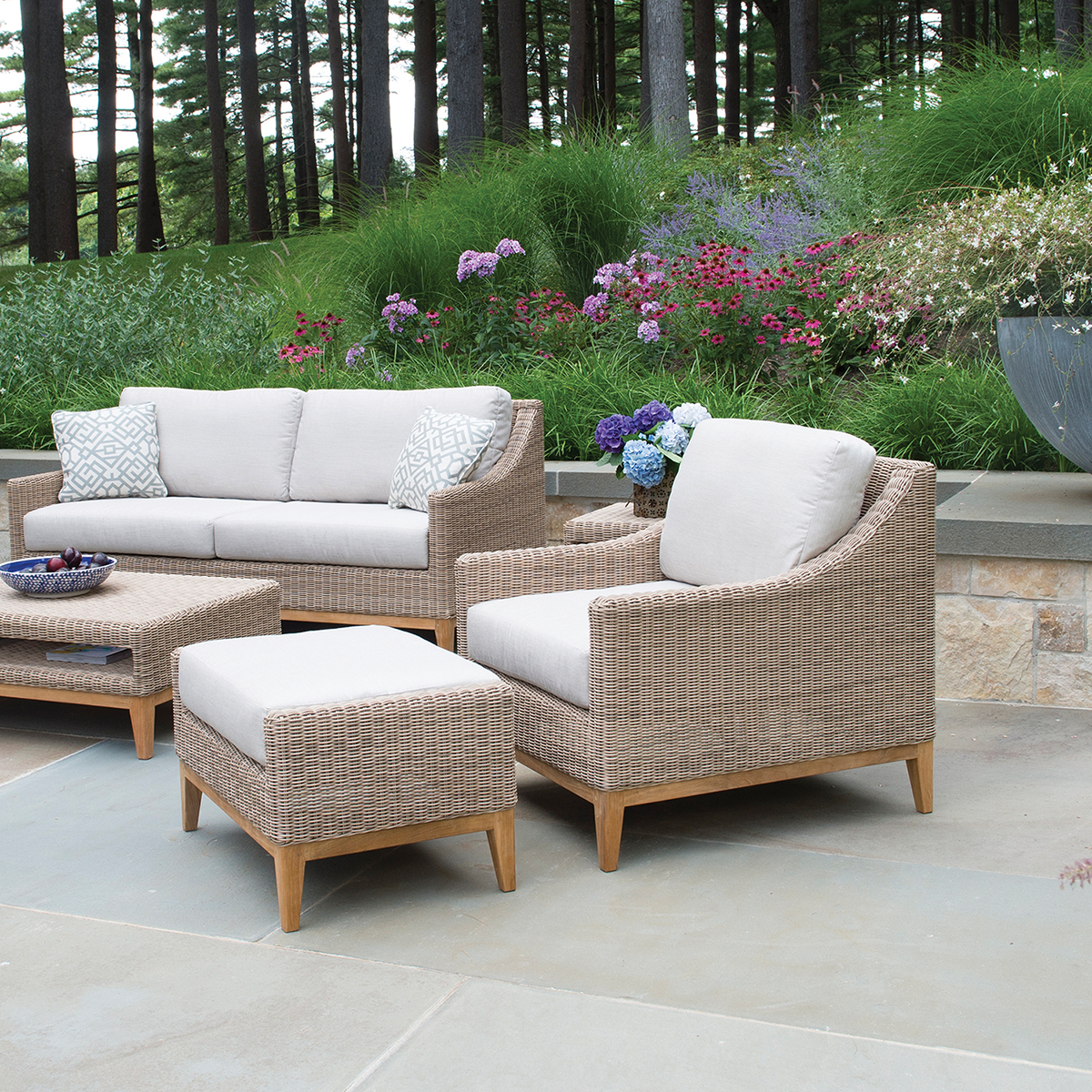 Frances Outdoor Furniture Collection Deep Seating