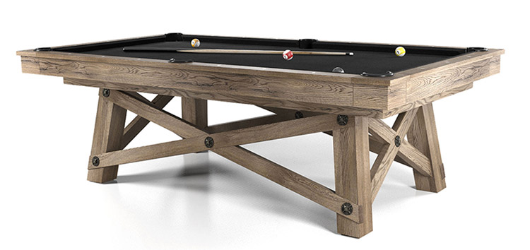 Loft Pool Table by California House