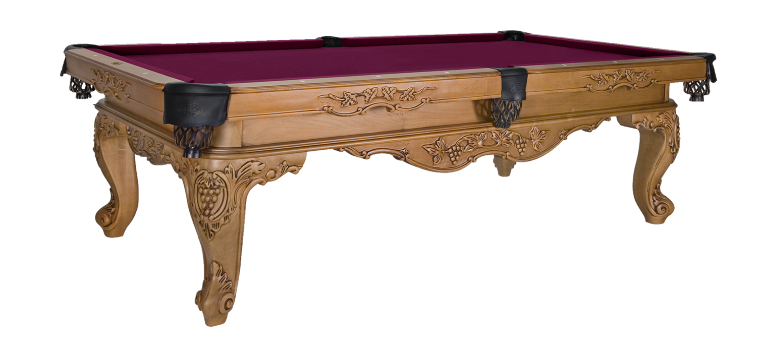 Louis_XIV Pool Table by Olhausen Billiards
