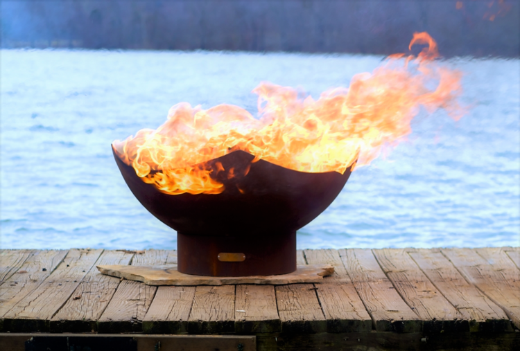 Manta Ray Firepit Fire Pits