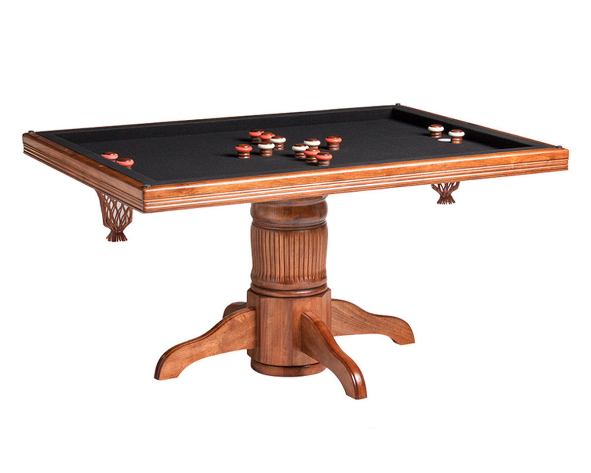 Monaco Poker Dining Table w/ Bumper Pool Game Tables