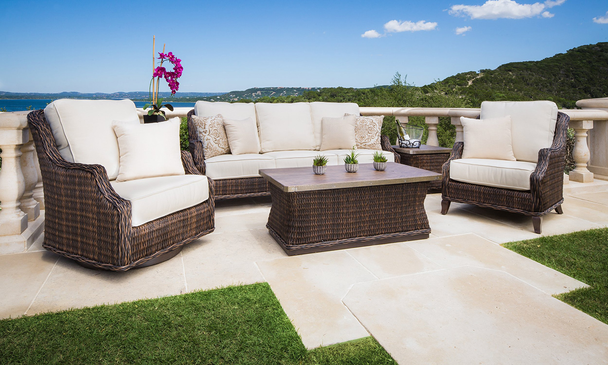 Monticello Outdoor Furniture Collection Deep Seating