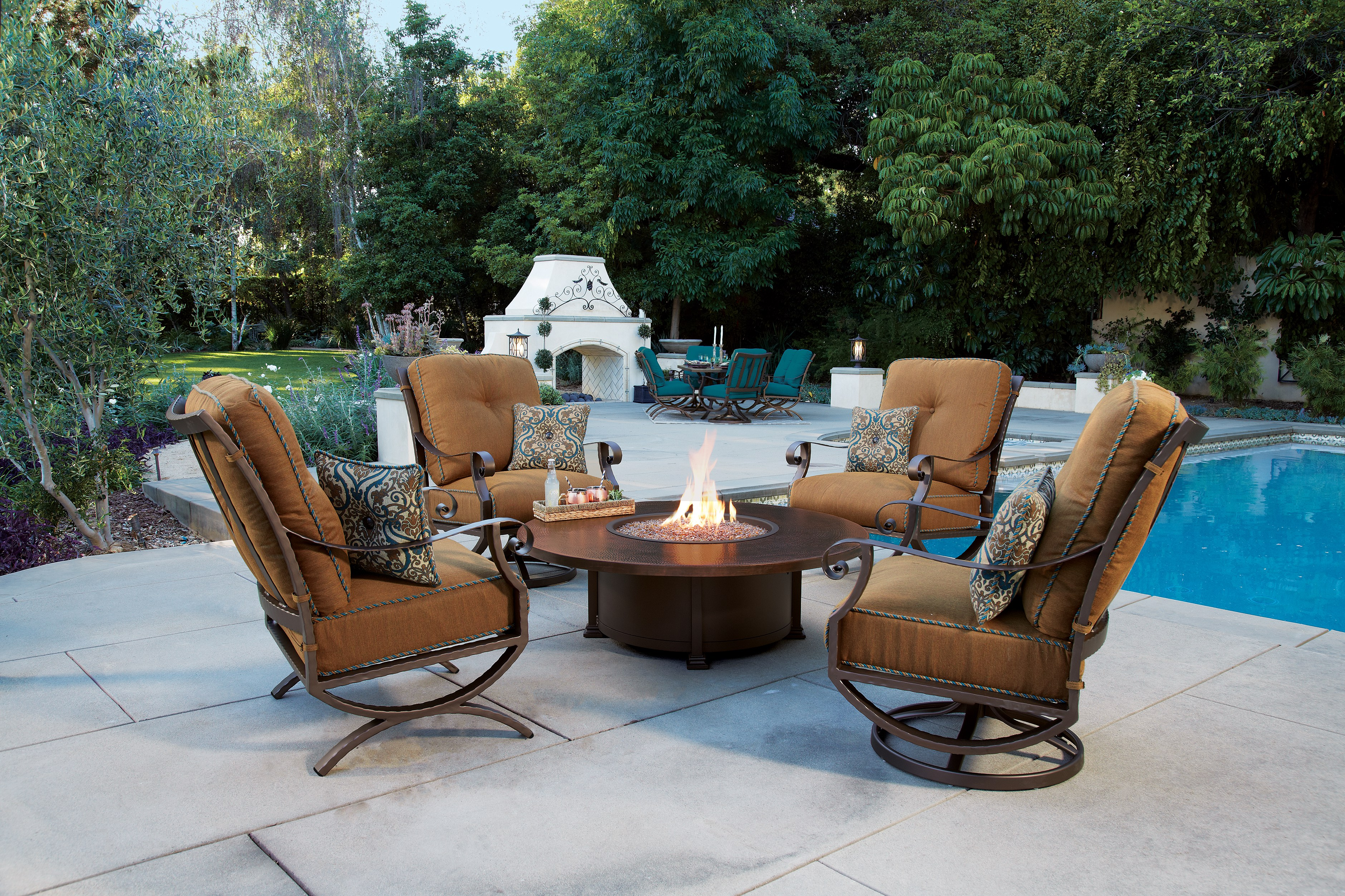 Luna Outdoor Patio Furniture Collection Deep Seating