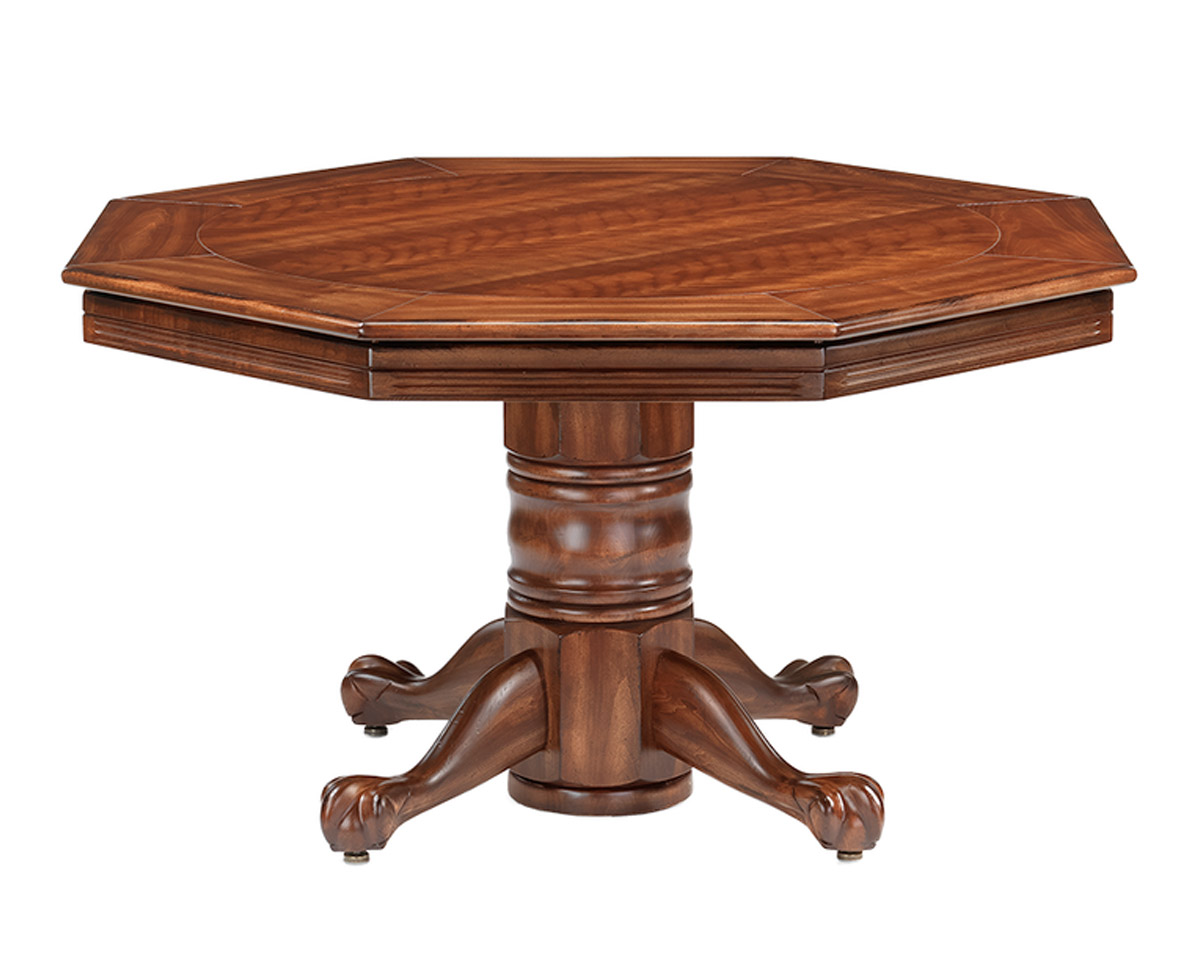 Serrengetti Poker Dining Table Game Tables