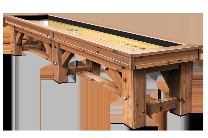 Timber Ridge Shuffleboard Table Game Room