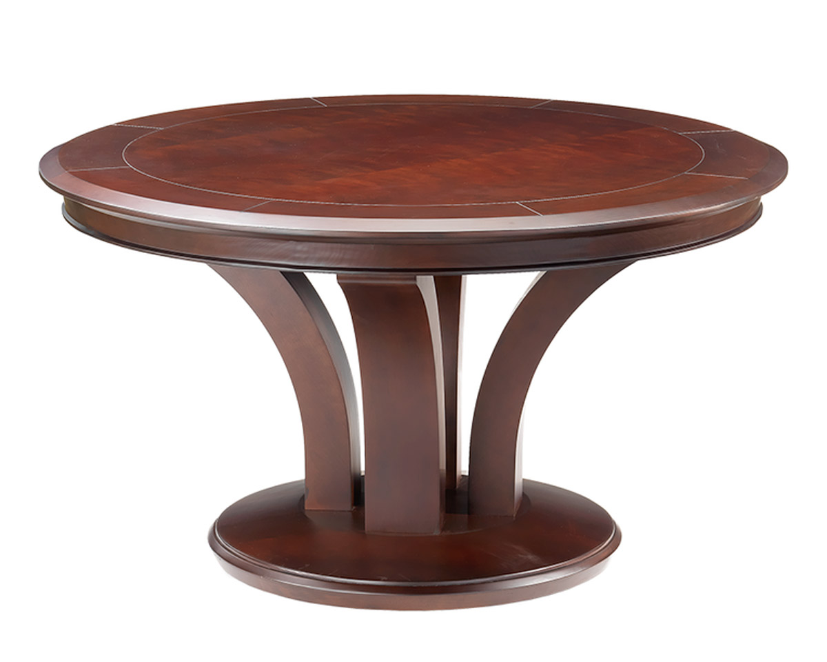 Treviso Round Poker Dining Table Game Tables