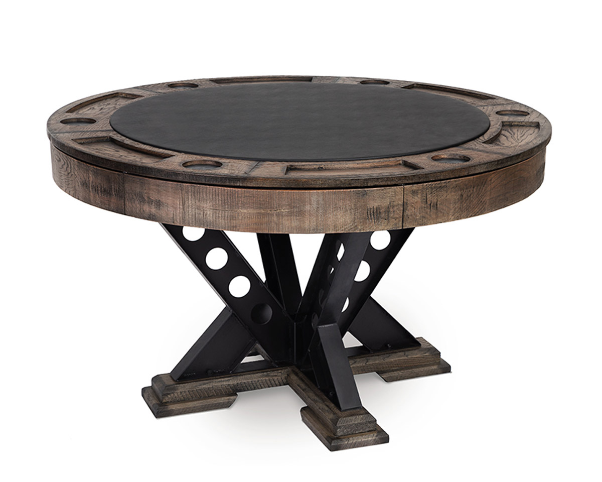 Vienna Poker Table with dining top Game Tables