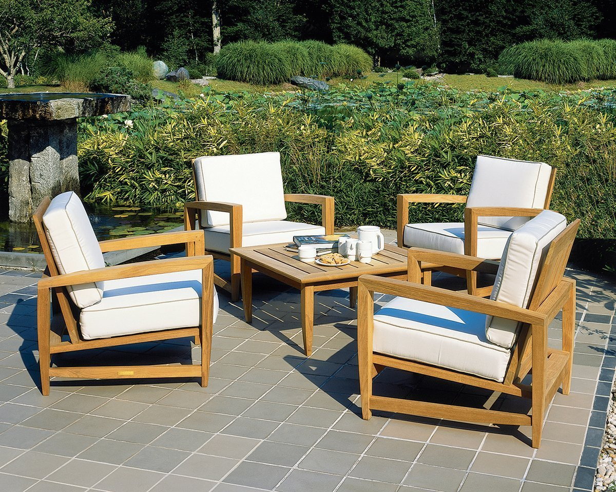 amalfi-teak deep-seating by kingsley bate