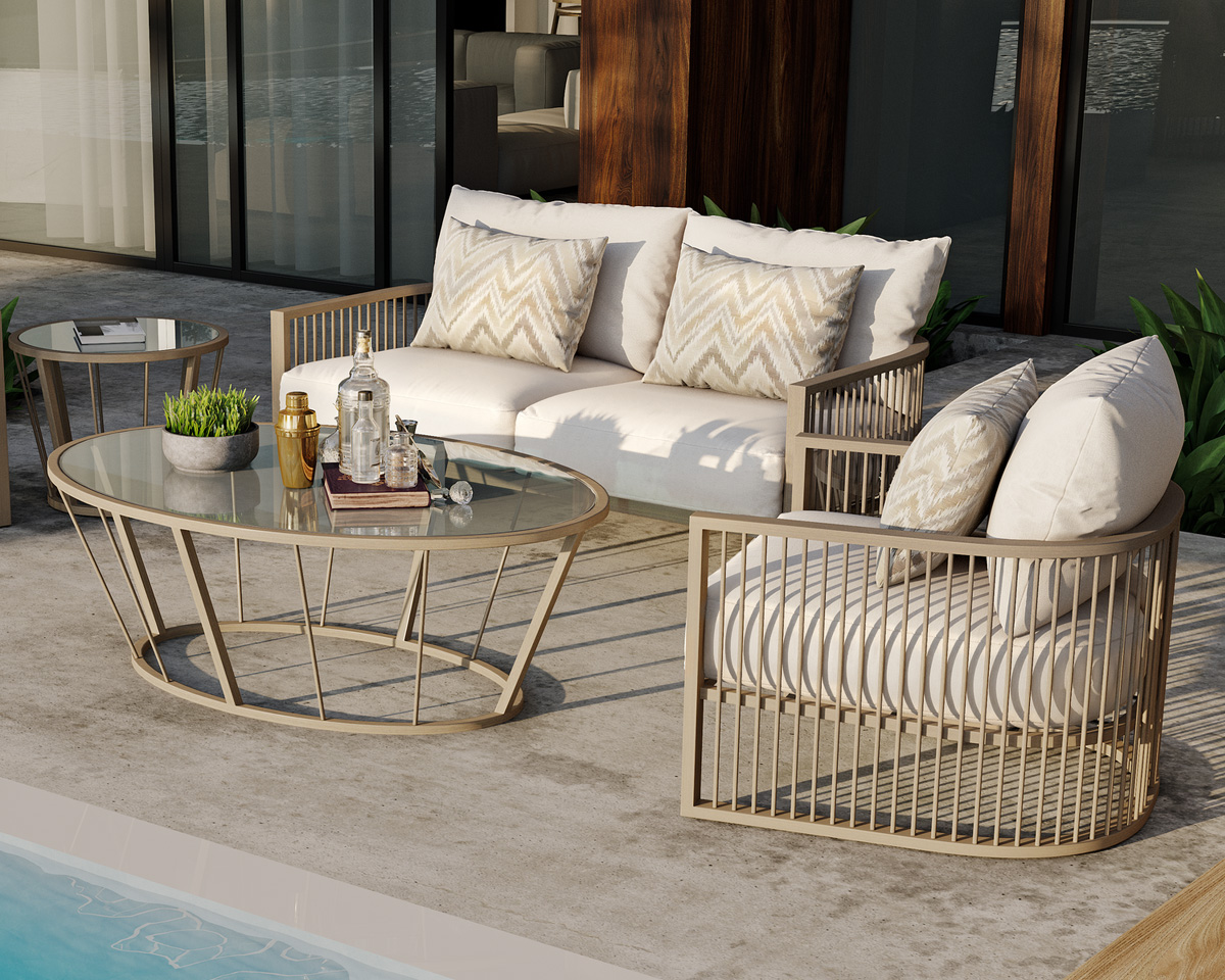 Avenue Deep seating by Castelle