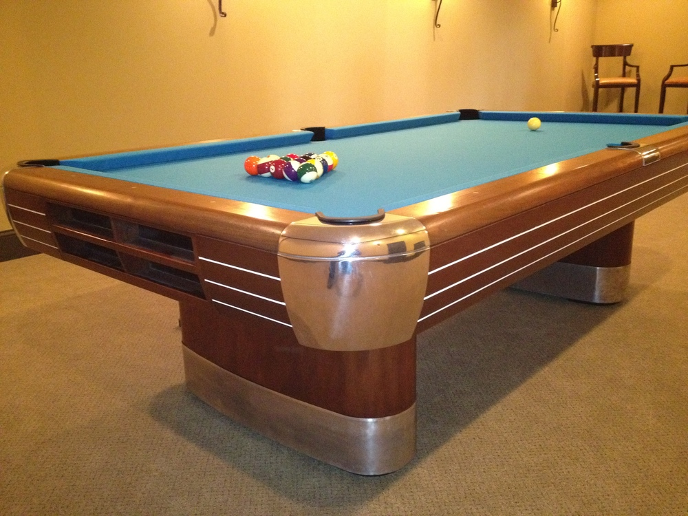 Brunswick Anniversary Antique Pool Table Antique Billiard Tables