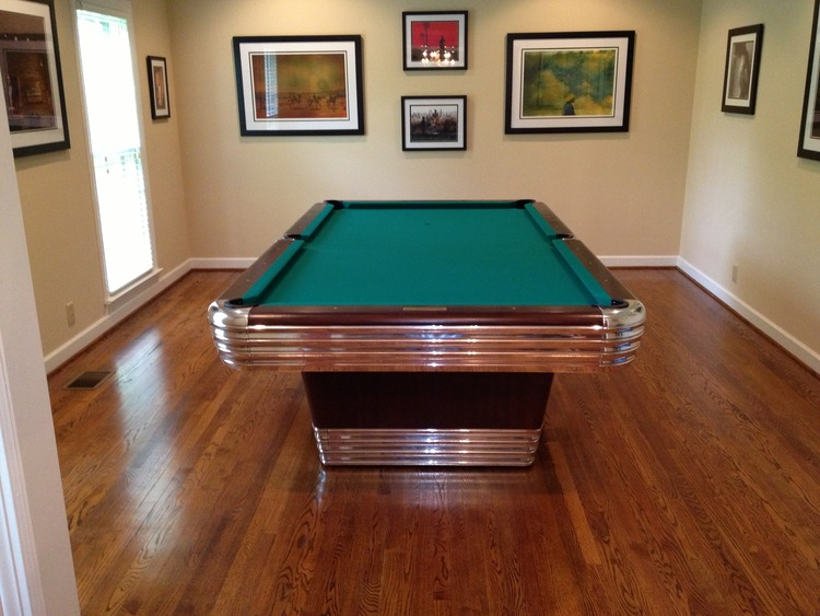 1945 Brunswick Centennial Antique Pool Table Antique Billiard Tables