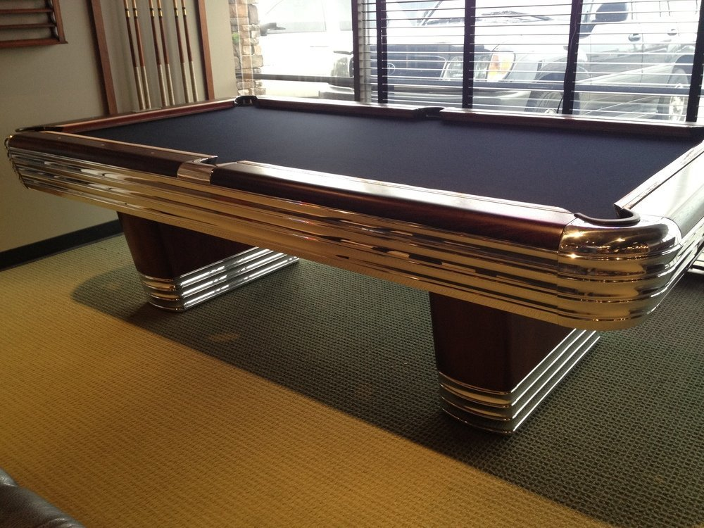Brunswick Centinnial Antique Pool Table