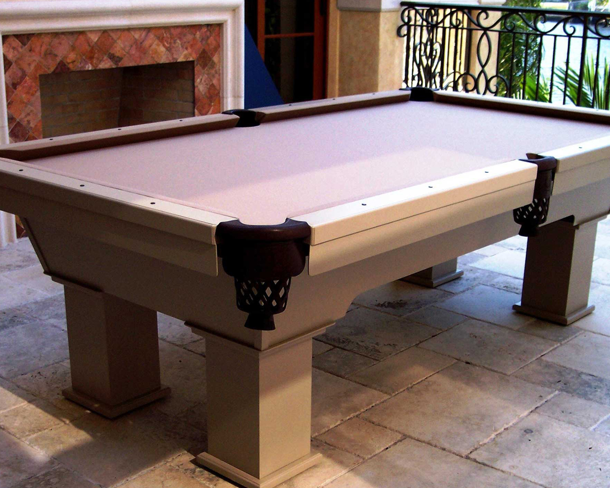 The Caesar Outdoor Pool Table Outdoor
