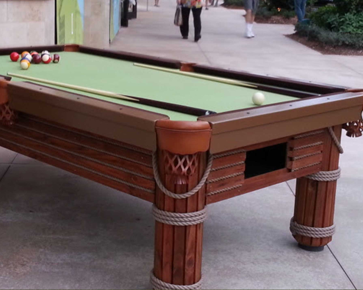 Caribbean Outdoor Pool Table Outdoor Games