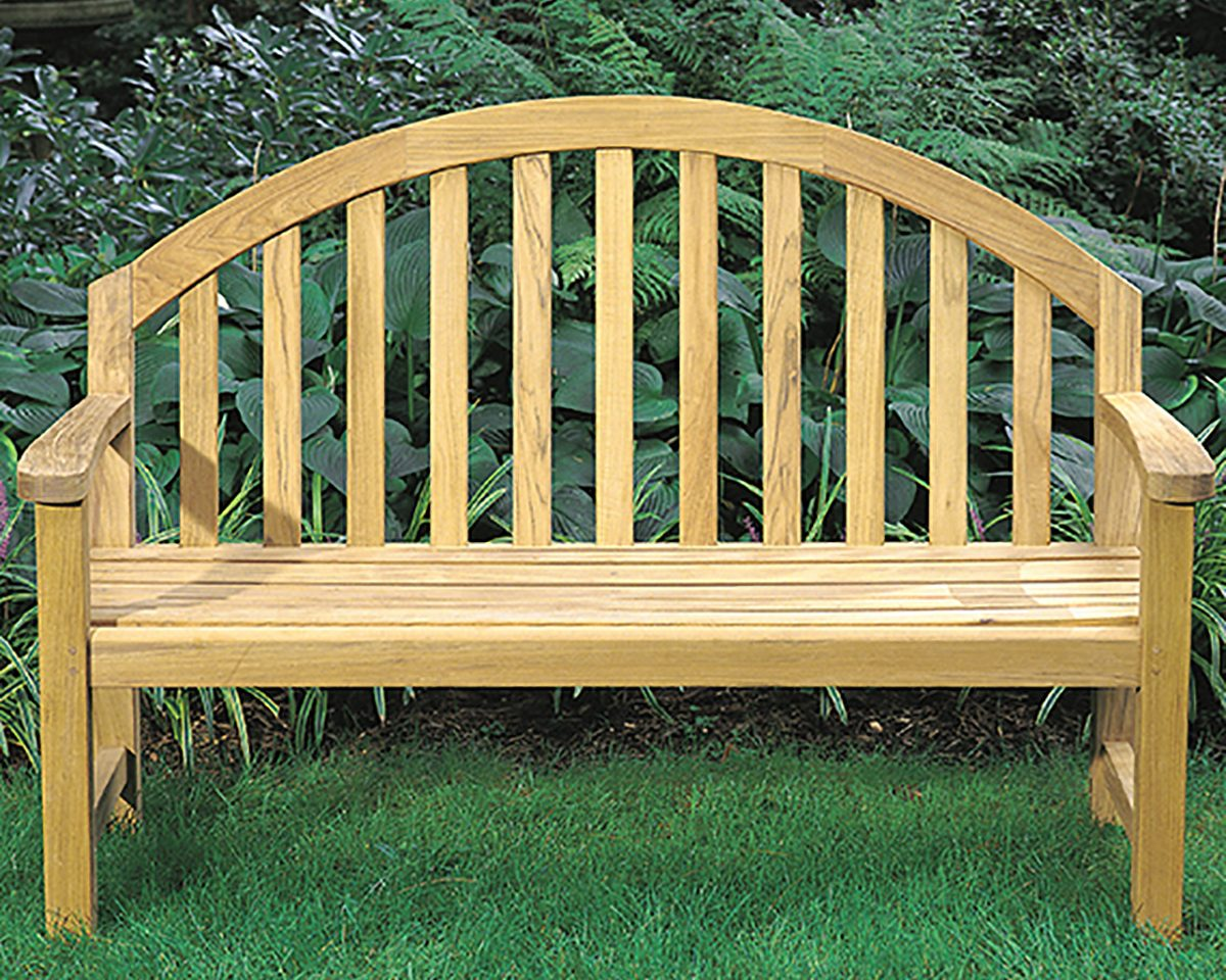 Derby Teak Bench Patio & Outdoor