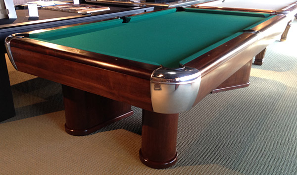 Brunswick Moderne circa 1937-1946 Antique Pool Table Antique Billiard Tables