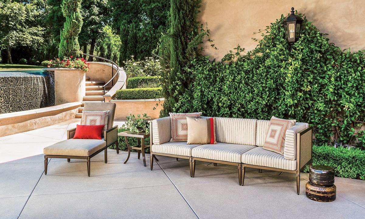 Drake Outdoor Furniture Collection Deep Seating