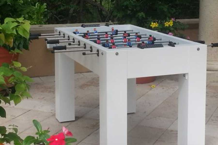 Madison Outdoor Foosball Table Outdoor Games