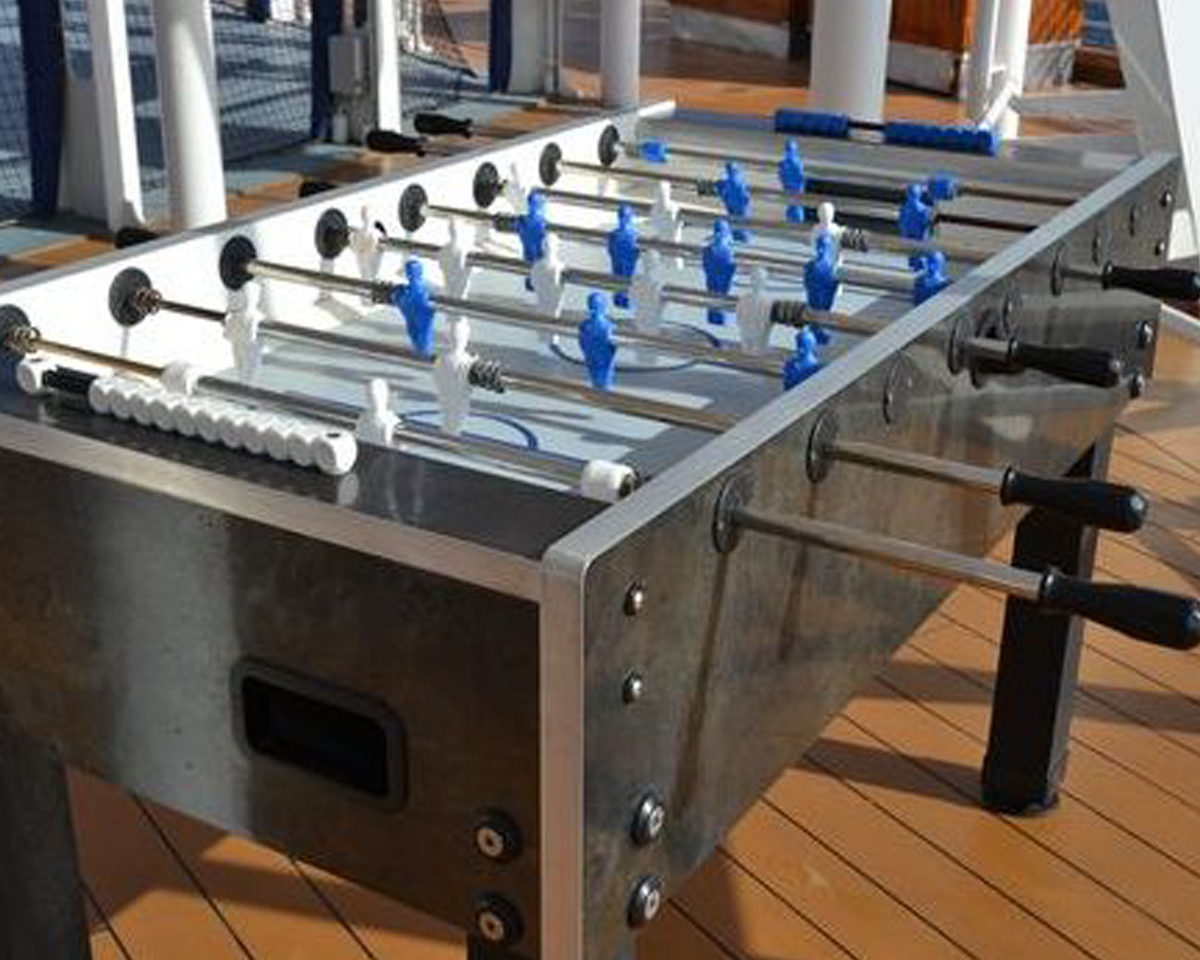 Garlando 500 Outdoor Foosball Table Foosball Tables
