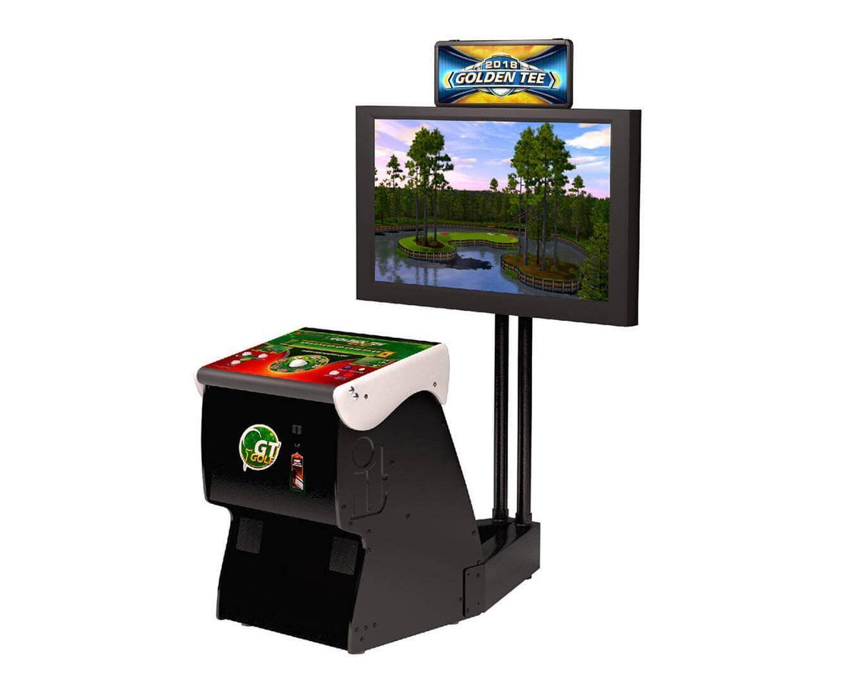 2019 Golden Tee Home Edition Golf Arcade Console