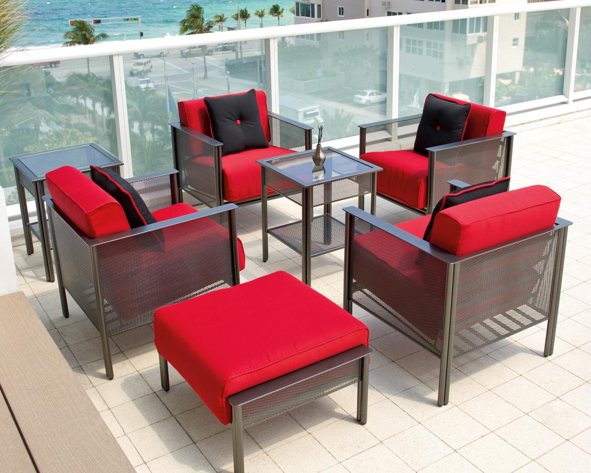 Jax Modern  Patio Furniture Collection Deep Seating