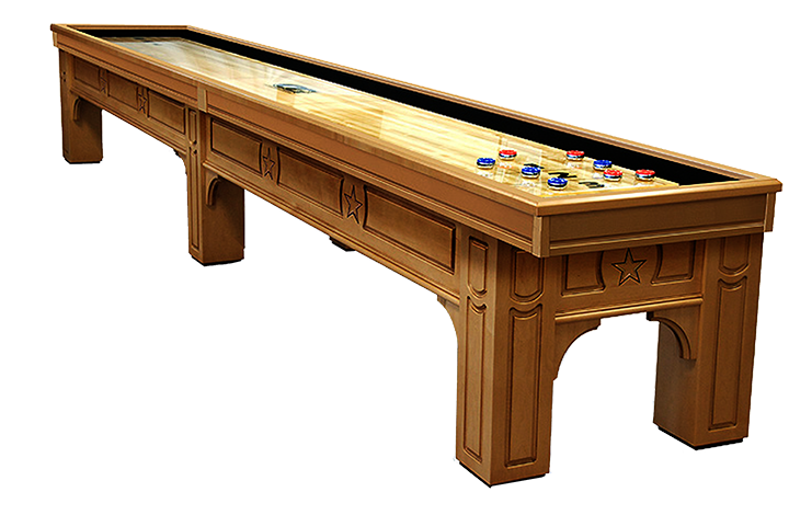 Lonestar Shuffleboard Table Game Room