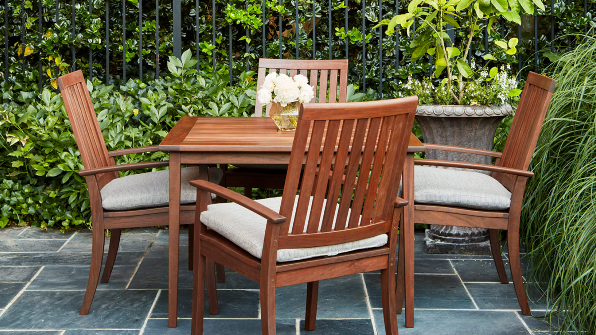 Richmond IPE Outdoor Dining by Jensen Leisure Dining