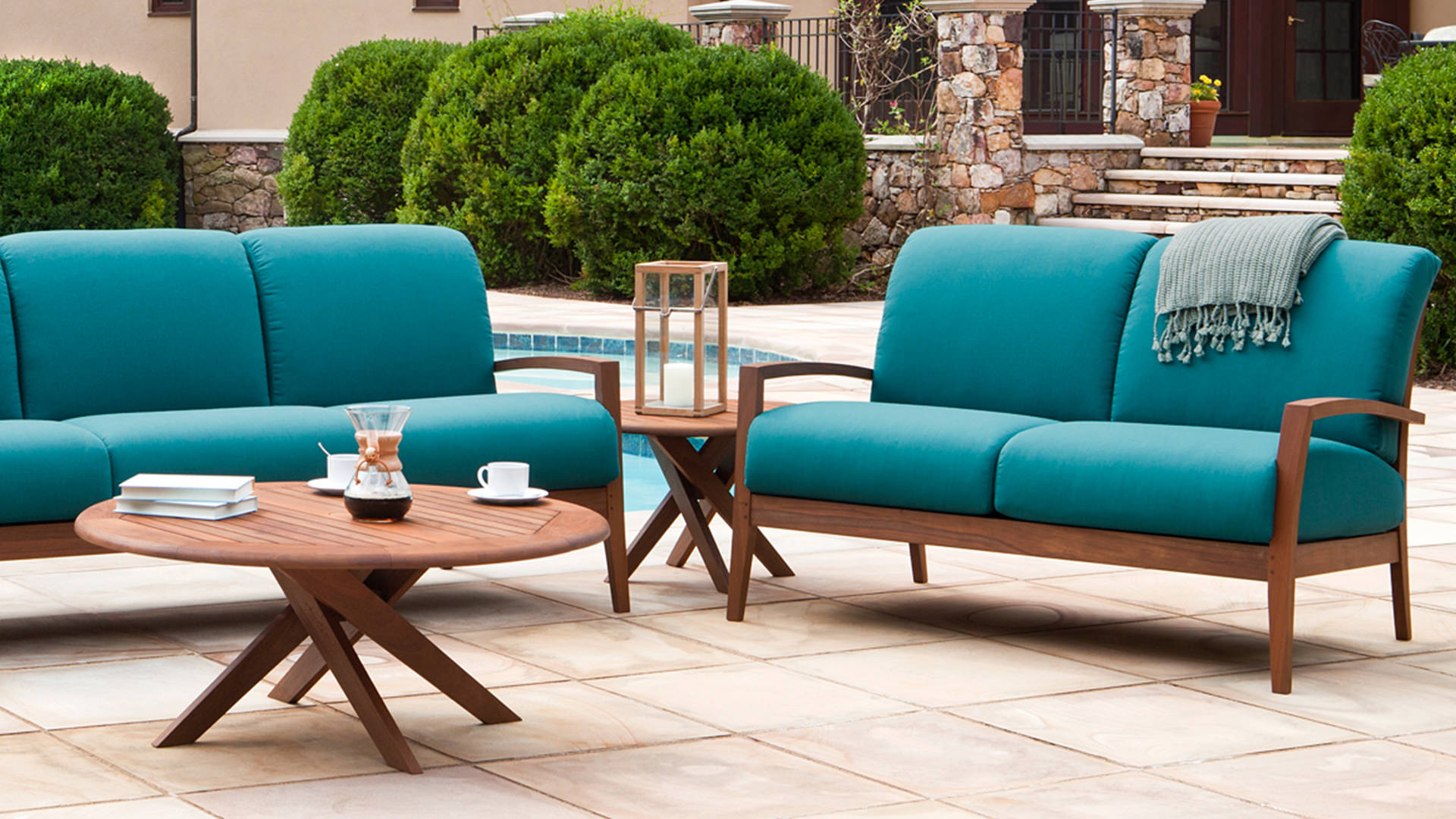 Topaz Outdoor Furniture Collection Deep Seating