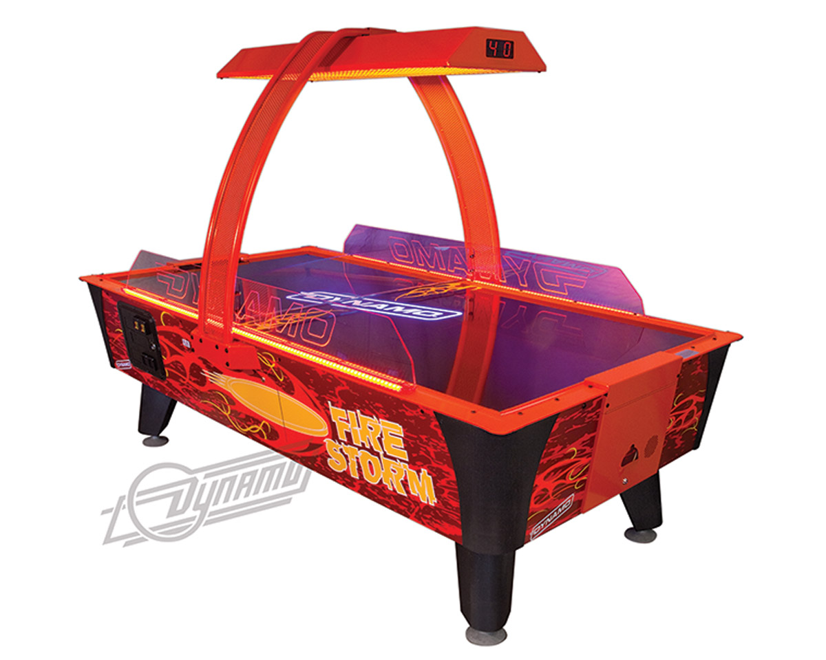 Dynamo Firestorm Air Hockey Tables