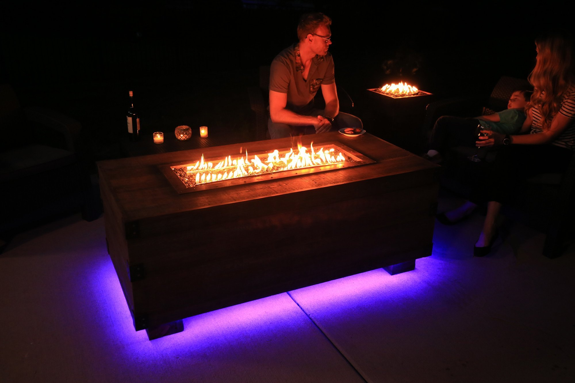 12th South Trunk Bluetooth Fire Pit Fire Pits