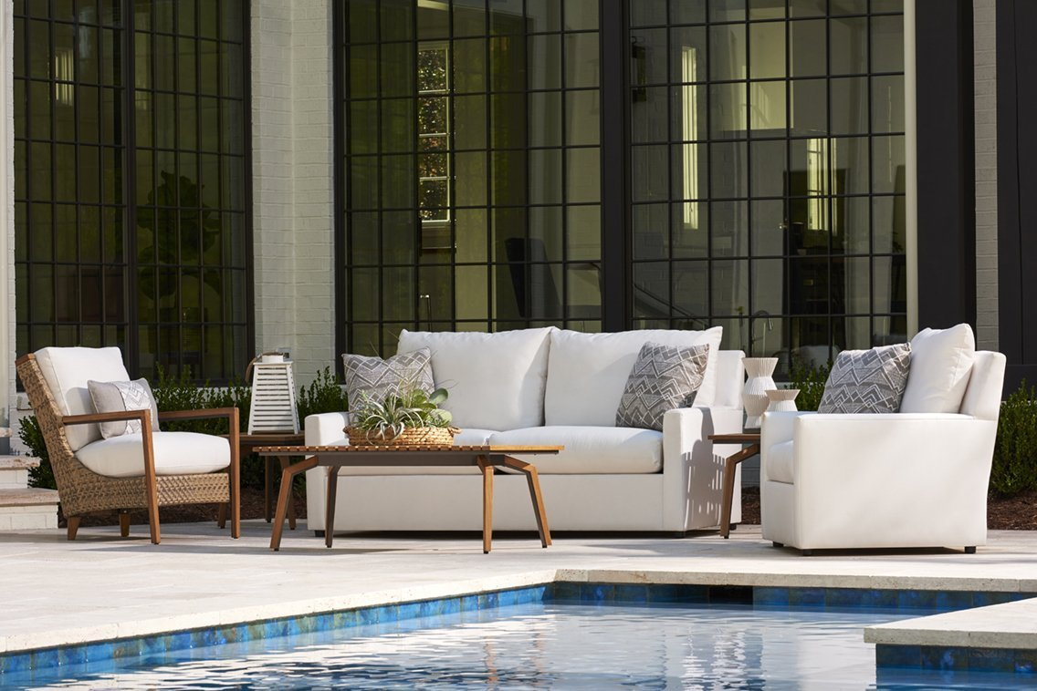 Charlotte Outdoor Upholstered Deep Seating