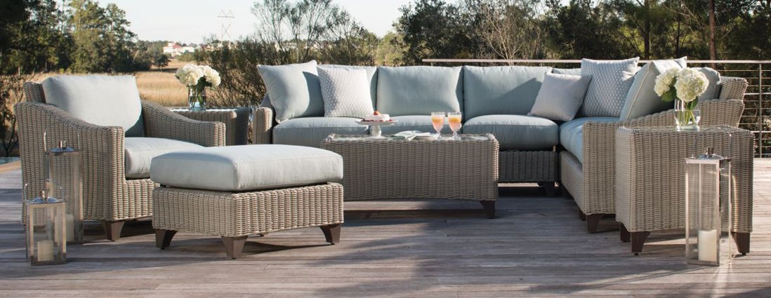 Requisite Woven Outdoor Patio Collection Deep Seating