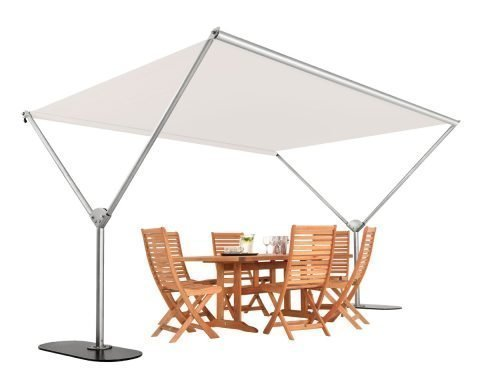 Sky Dual Post Parasol Patio Umbrellas