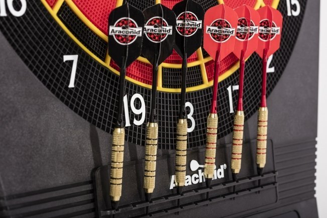 Arachnid Cricket Pro 900 Soft Tip Dartboard Darts