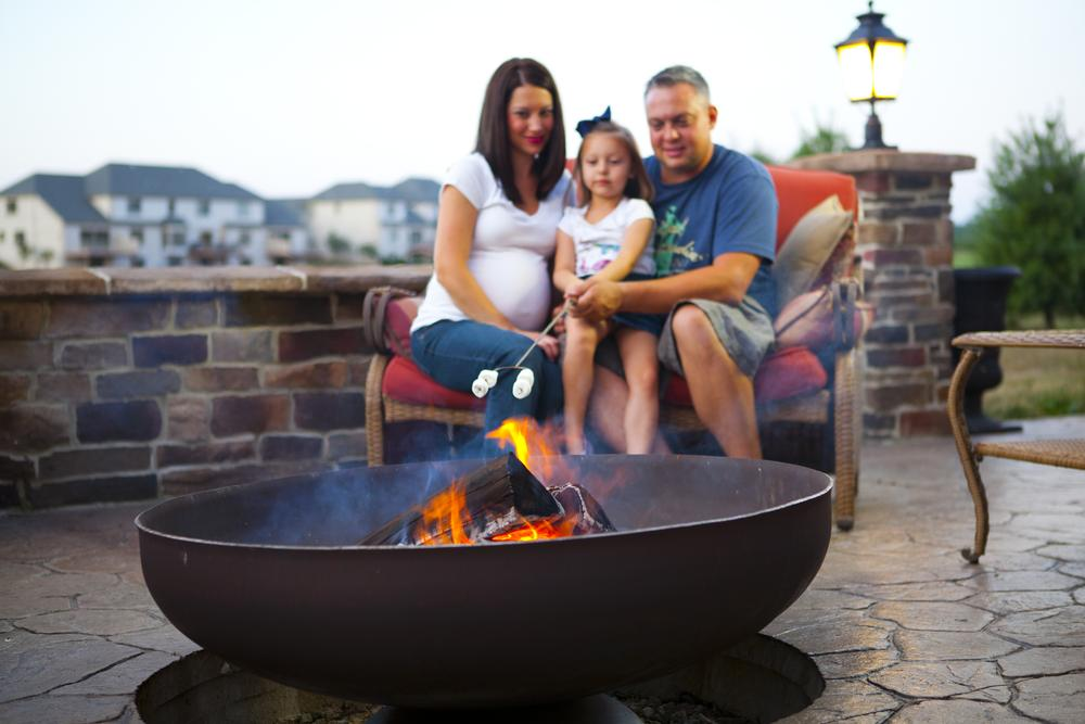 Patriot Wood Burning Firepit Fire Pits