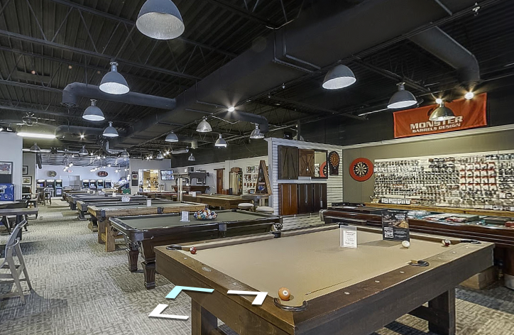 Google Tour of Nashville Billiard